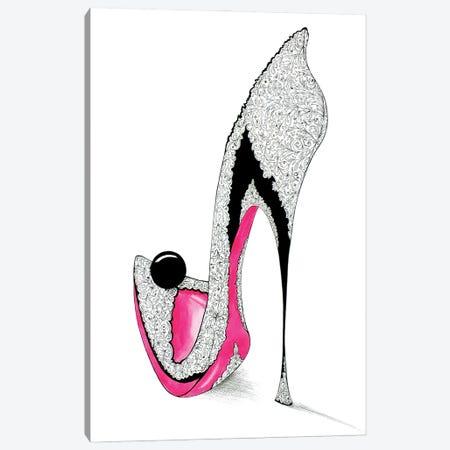 Ebony II Canvas Print #SKG87} by Sally King Design Canvas Art