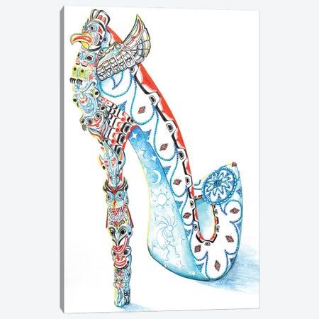 Kokapelli Canvas Print #SKG89} by Sally King Design Canvas Art Print