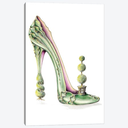 Toe-Piary Canvas Print #SKG8} by Sally King Design Canvas Art