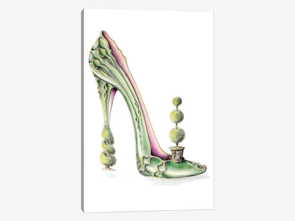 Toe-Piary by Sally King Design 1-piece Canvas Art Print