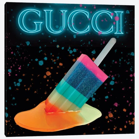 Gucci Popsicle Canvas Print #SKH6} by Amy Shekhter Canvas Wall Art