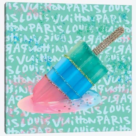 LV Paris Popsicle Canvas Print #SKH9} by Amy Shekhter Canvas Print