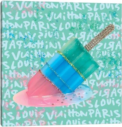 LV Paris Popsicle Canvas Art Print