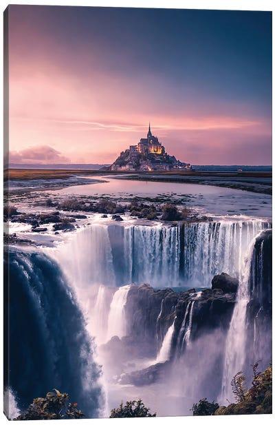 Dreamy Castle Canvas Art Print