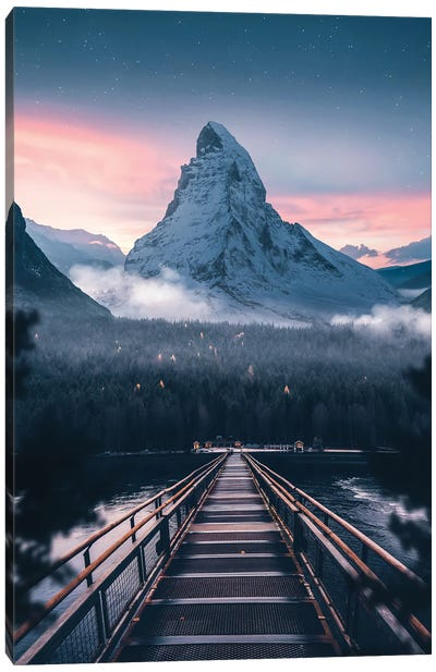Call Of The Mountain Canvas Art Print