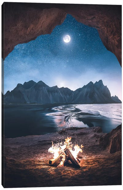 An Special Night Canvas Art Print