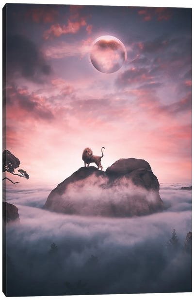 Eclipse Of The King Canvas Art Print