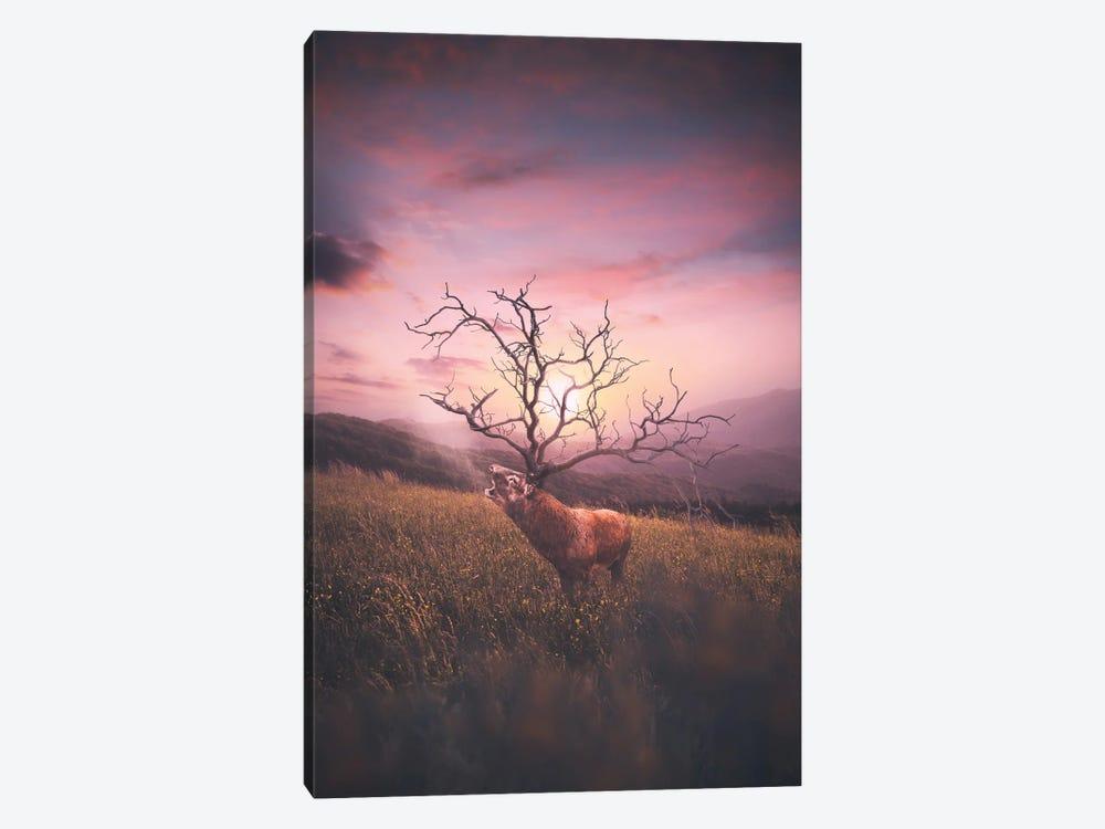 Deer Has Horn by Shubham Kumar Rana 1-piece Canvas Print