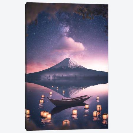 Fuji Canvas Print #SKM29} by Shubham Kumar Rana Canvas Art Print