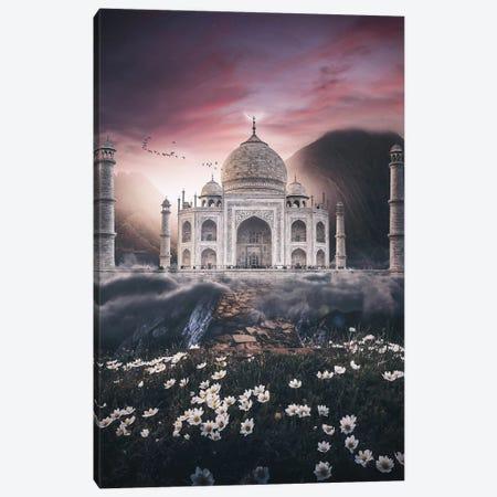 The Taj Canvas Print #SKM32} by Shubham Kumar Rana Canvas Wall Art