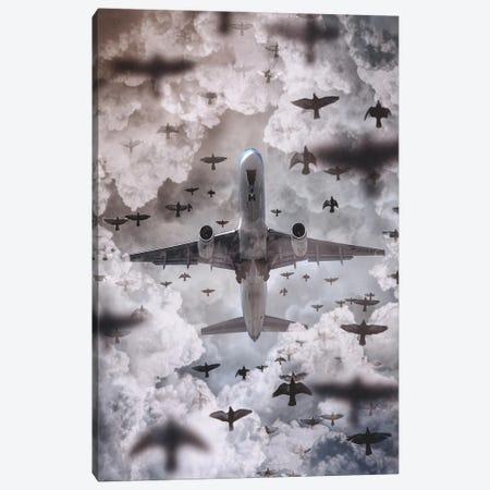 Flying Machines Canvas Print #SKM36} by Shubham Kumar Rana Canvas Art Print