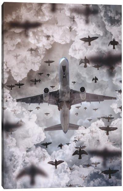Flying Machines Canvas Art Print