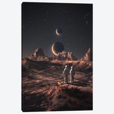 Love On Mars Canvas Print #SKM3} by Shubham Kumar Rana Canvas Art