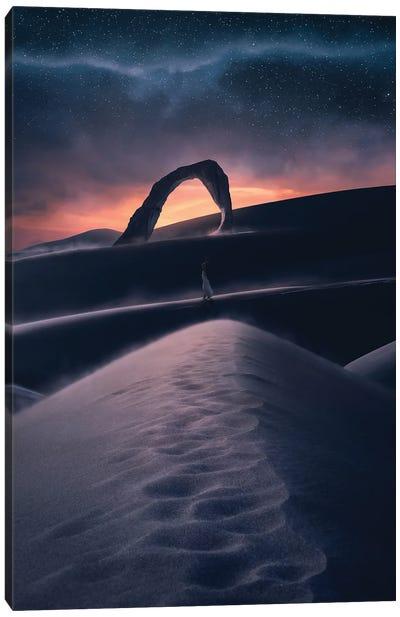 Feeling Of Desert Canvas Art Print