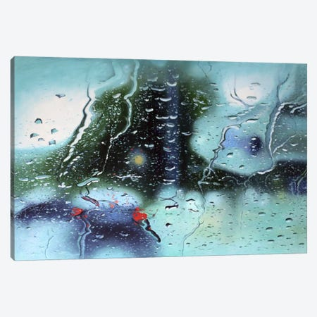 Poor Circulation Canvas Print #SKN11} by Shay Kun Art Print