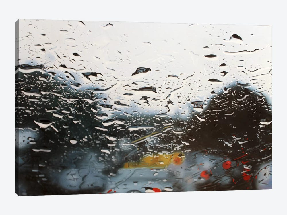 Drenched by Shay Kun 1-piece Canvas Print