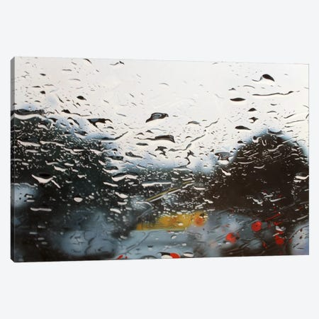 Drenched Canvas Print #SKN12} by Shay Kun Canvas Art Print
