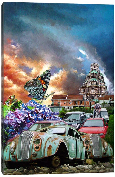 Postcards From The Edge I Canvas Art Print