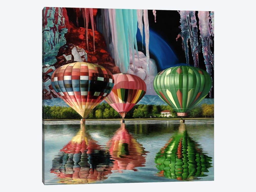 Splendor Falls 1-piece Canvas Wall Art