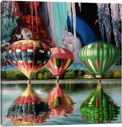 Splendor Falls Canvas Art Print
