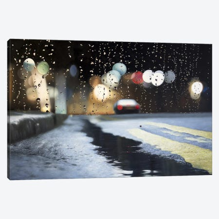 Brief Encounter Canvas Print #SKN27} by Shay Kun Canvas Art Print