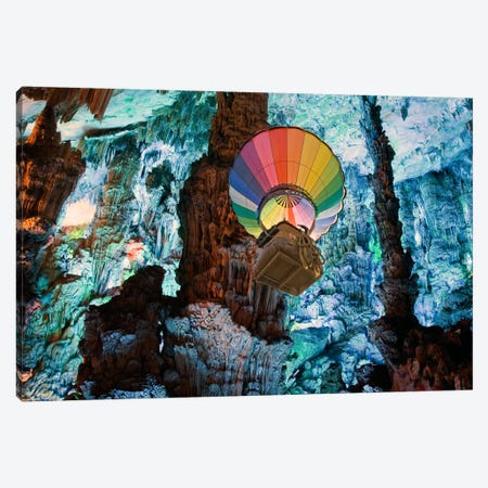 Now Wait For Last Year Canvas Print #SKN31} by Shay Kun Art Print
