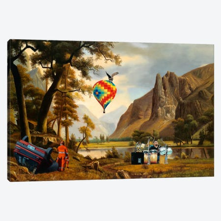The Reuion Canvas Print #SKN48} by Shay Kun Canvas Art