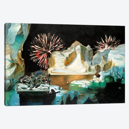 Premonitions Canvas Print #SKN49} by Shay Kun Canvas Artwork