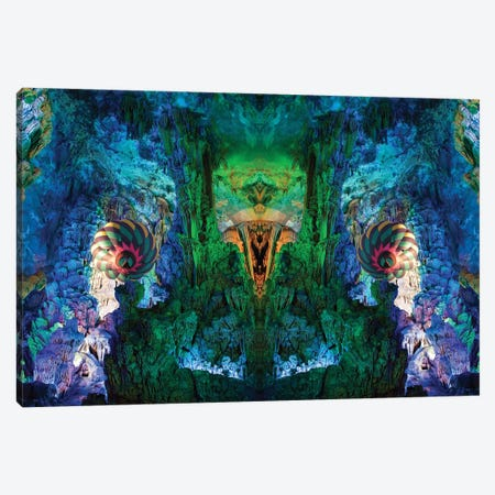 Cavern Canvas Print #SKN55} by Shay Kun Canvas Wall Art