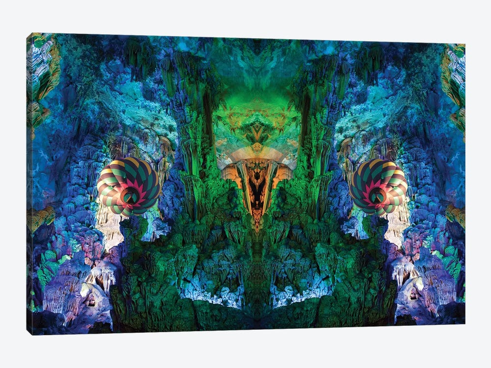 Cavern by Shay Kun 1-piece Canvas Wall Art
