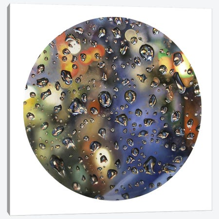 Tear Drop IV Canvas Print #SKN59} by Shay Kun Canvas Art Print