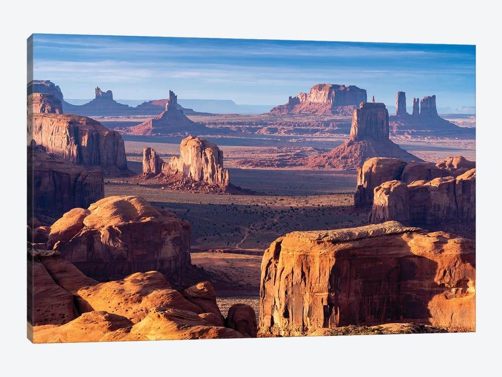 Hunts Mesa Navajo Tribal Park Sunrise I by Susanne Kremer 1-piece Canvas Artwork