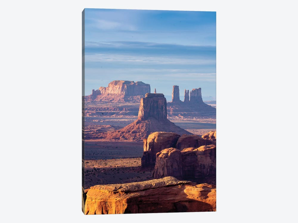 Hunts Mesa Navajo Tribal Park Sunrise III by Susanne Kremer 1-piece Canvas Wall Art