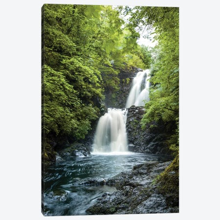 Isle of Skye Waterfall Ulg I Canvas Print #SKR105} by Susanne Kremer Art Print