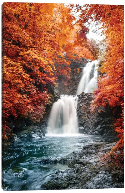 Isle of Skye Waterfall Ulg II Canvas Art Print
