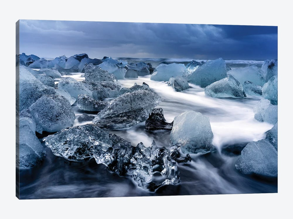 Jokulsarlon Glacier Lagoon I by Susanne Kremer 1-piece Canvas Wall Art