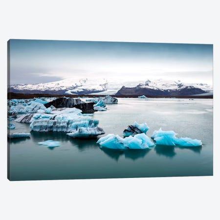 Jokulsarlon Glacier Lagoon II   Canvas Print #SKR109} by Susanne Kremer Canvas Art