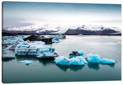 Jokulsarlon Glacier Lagoon II   Canvas Art Print