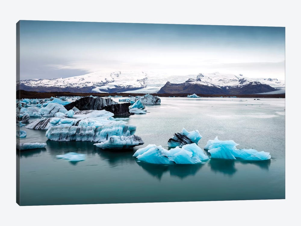 Jokulsarlon Glacier Lagoon II   by Susanne Kremer 1-piece Canvas Print