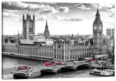 Big Ben and Palace of Westminster I Canvas Art Print