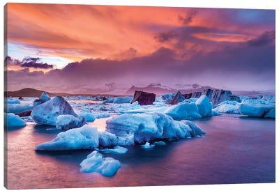 Jokulsarlon Glacier Lagoon III Canvas Art Print