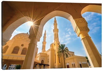 Jumeirah Mosque  Canvas Art Print