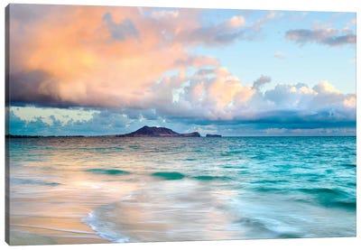 Lanikai Beach Near Honululu Canvas Art Print