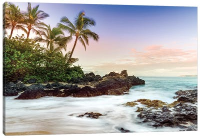 Makena Beach, Makena State Park  Canvas Art Print