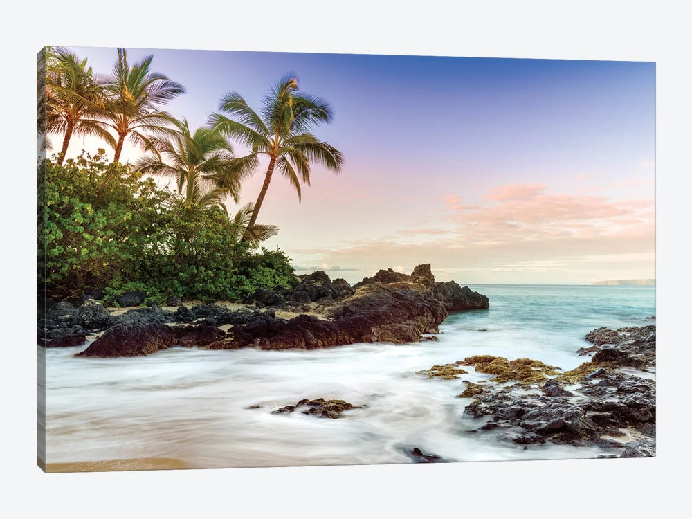 Makena Beach, Makena State Park  by Susanne Kremer 1-piece Canvas Art Print