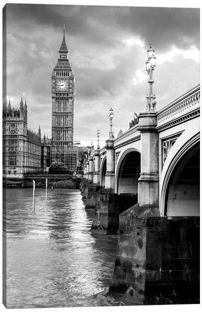 Big Ben and Palace of Westminster III  Canvas Art Print