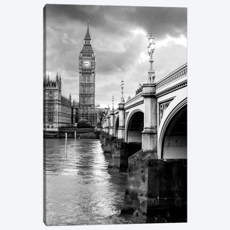Big Ben and Palace of Westminster III  Canvas Print #SKR12} by Susanne Kremer Canvas Print