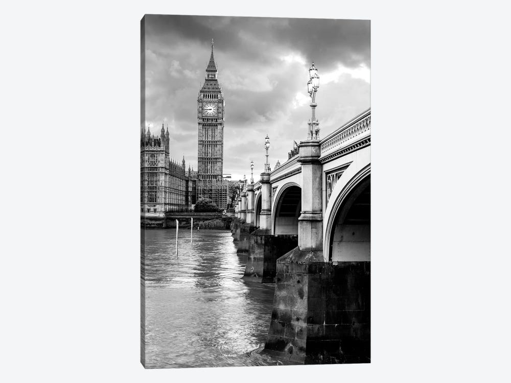 Big Ben and Palace of Westminster III  by Susanne Kremer 1-piece Canvas Art