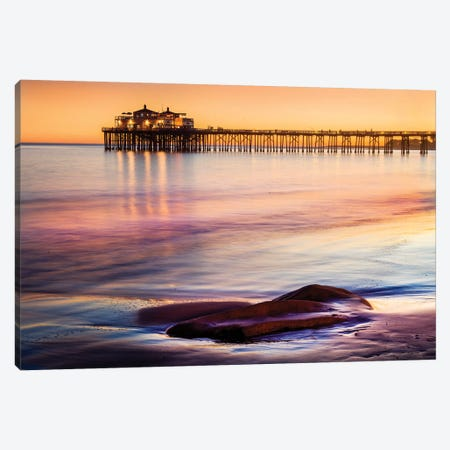 Malibu Beach Canvas Print #SKR131} by Susanne Kremer Canvas Print