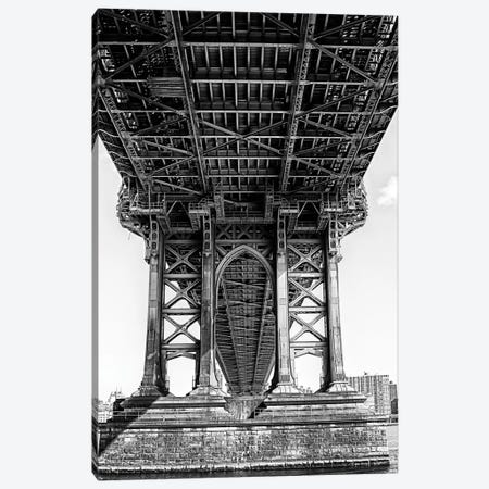 Manhattan Bridge  Canvas Print #SKR133} by Susanne Kremer Canvas Print